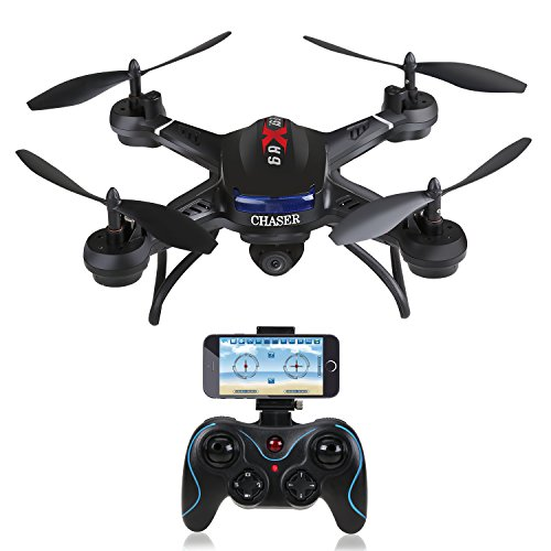 Holy Stone F181W Wifi FPV Drone with 720P Wide-Angle HD Camera Live Video RC Quadcopter with Altitude Hold, Gravity Sensor Function, RTF and Easy to Fly for Beginner, Compatible with VR Headset by Holy Stone (Image #8)