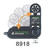 AZ8918 pocket digital anemometer, anemometer, hand-held wind speed / air temperature tester
