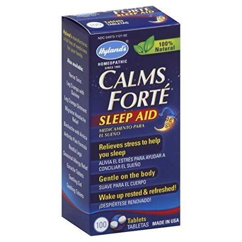 Pack of 1 x Hyland's Calms Forte Sleep Aid - 100 Tablets by Hylands