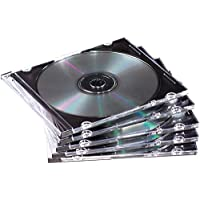 Fellowes 98316 NEATO Slim Jewel Cases, Clear, 25-Pack