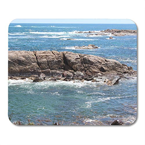"""Emvency Mouse Pads Few Kilometers from Cape Leeuwin Western Australia Where The Mouse Pad for notebooks, Desktop Computers mats 9.5"""" x 7.9"""" Office Supplies"""