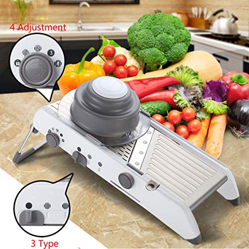 Aliturtle 18 in 1 Mandoline Slicer Adjustable