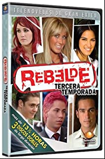 Amazon com: Rebelde: Segunda Temporada: Season 2: Anahi