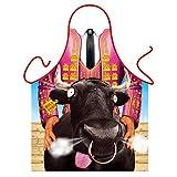 """Hola Toro"" (Bull Lover) - Sexy Kitchen Apron"