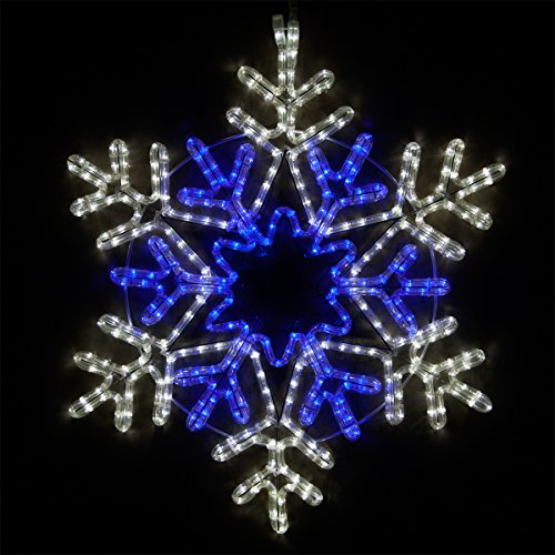 Large Outdoor Lighted Star Decoration in US - 4