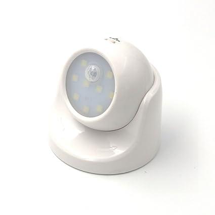 Luz LED con sensor de movimiento funcionamiento a pilas de OPEN BUY