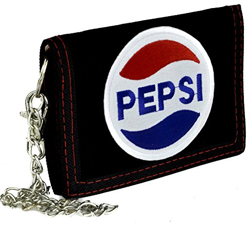 pepsi-cola-company-tri-fold-wallet-with-chain-alternative-clothing-80s-nostalgia