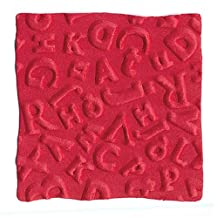 We R Memory Keepers 2 Inch by 2 Inch GooseBumpz Embossing Dies, Alphabet