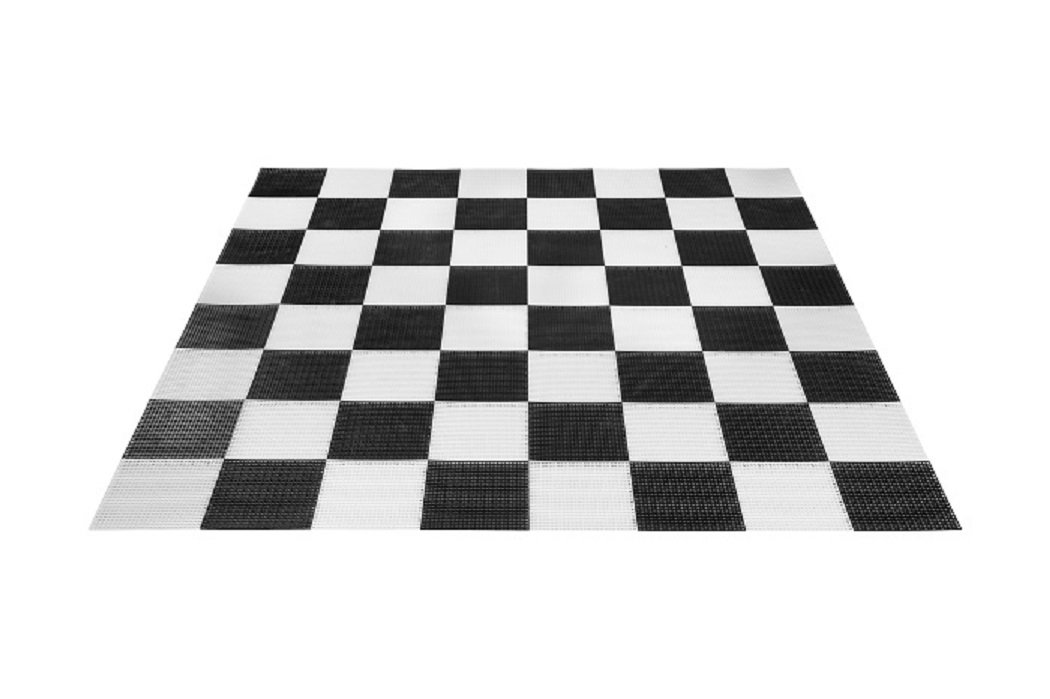 Uber Games Giant Checkers Game Board - Plastic by Uber Games