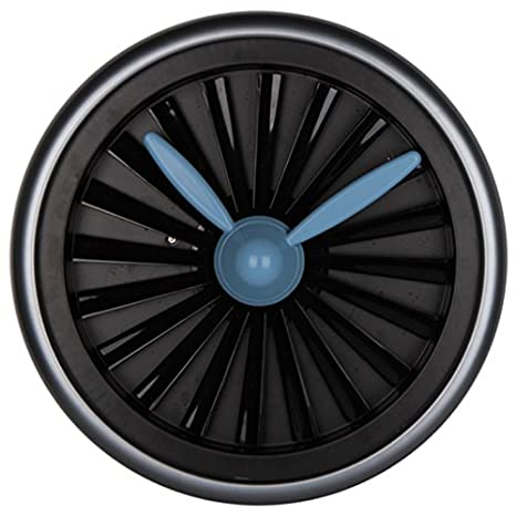 Ayya reloj de pared creativo personalizada Turbo giratoria Gear reloj salón reloj personalidad: Amazon.es: Hogar