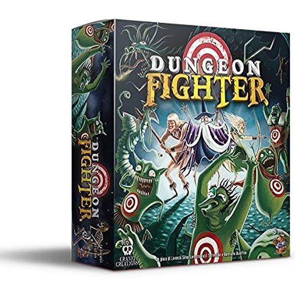 Cranio Creations Dungeon Fighter - Juego de Mesa (versión en Italiano) [Importado de Italia]: Amazon.es: Juguetes y juegos