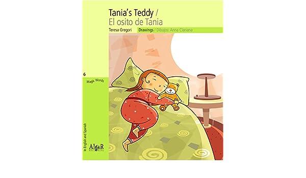 TANIAS TEDDY - LETRA CURSIVA: TERESA GREGORI: 9788498452433: Amazon.com: Books