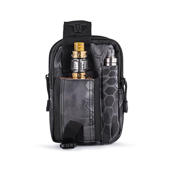 515PuhEm26L Ecigdiy Tactical Molle Tasche Kompakte EDC Mehrzweck-Dienstprogramm Gadget Gürtel Gürteltasche mit Handyholster für…