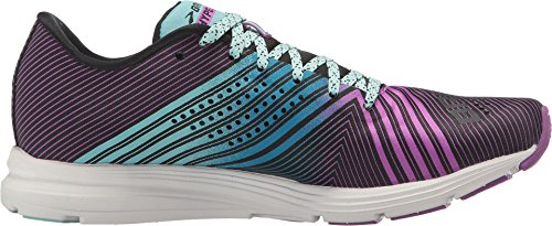 Brooks Womens Hyperion Black / Dewberry / Aruba Blue