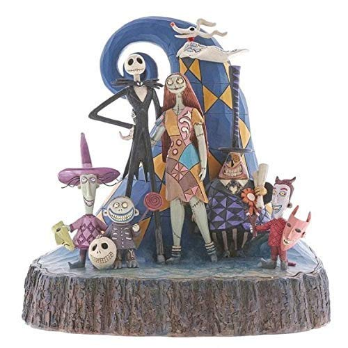 (Enesco 6001287 Disney Traditions by Jim Shore Nightmare Before Christmas Carved by Heart Figurine 8