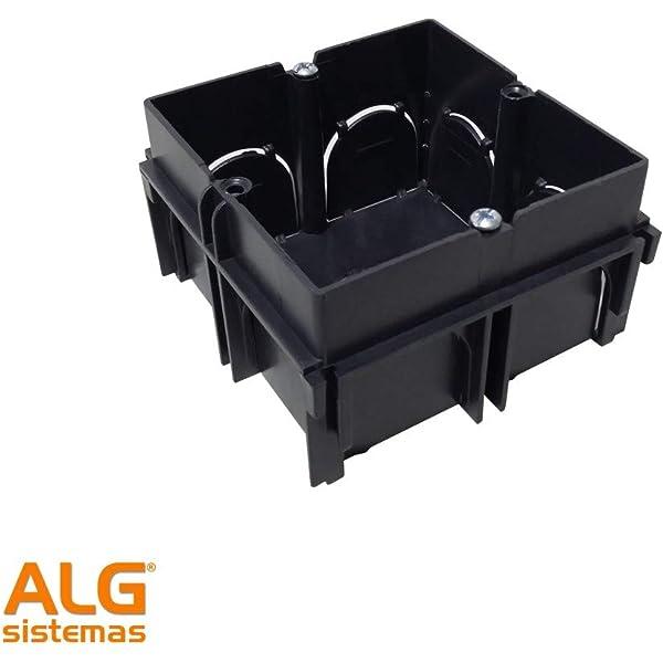 Caja Empotrar 1 Elemento Enlazable 65x65x40 mm.: Amazon.es: Industria, empresas y ciencia