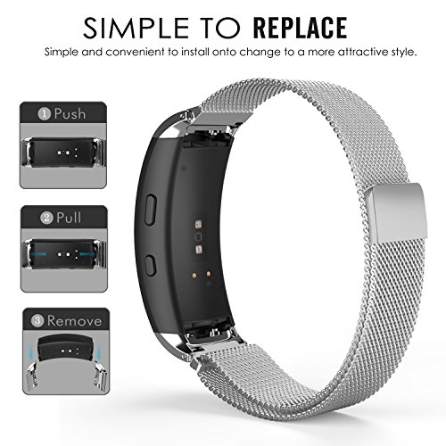 bce16bd39b9e MoKo Watch Band For Samsung Gear Fit2: Amazon.in: Electronics