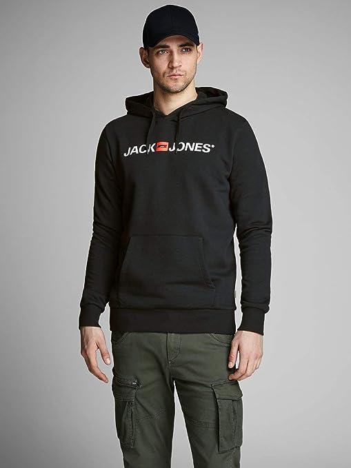 JACK /& JONES Herren Jjecorp Logo Sweat Hood Noos Kapuzenpullover