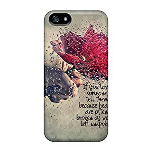 Iphone 5/5s Case, Premium Protective Case With Awesome Look - Love Someone