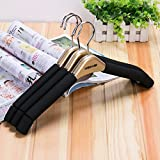 PuMaple 10pcs,Hanger Set with Sponge Padded , champagne