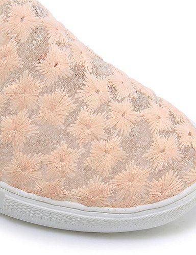 Vestido 5 Eu43 us11 Uk9 Creepers us4 Pink Mocasines Semicuero De Rosa Gyht Exterior Plataforma Zapatos 5 2 Casual 4 Uk2 Cn44 White Negro Zq Eu34 Cn33 Blanco Mujer AZwnw8