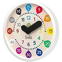 Twistiti - Reloj de Pared Pedagógico Silencioso