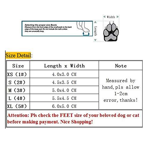 De Naranja Antideslizantes Gato Con Nieve Yorkie Zapatos Y Perros Botas Pets Cordones Calzados Para Feidaeu Cómodos Chihuahua 5wUYa