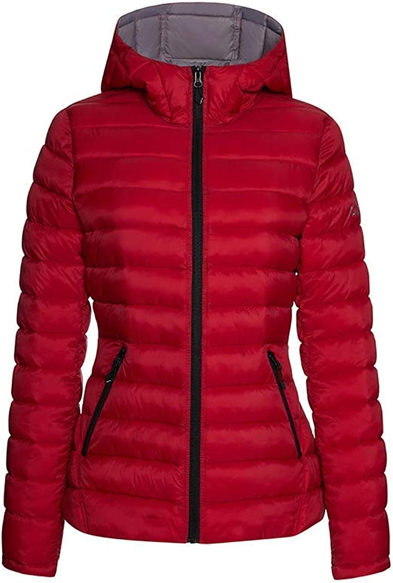 HFX Damen Quilted Cozy Sherpa Lined Jacket Isolierte Jacke
