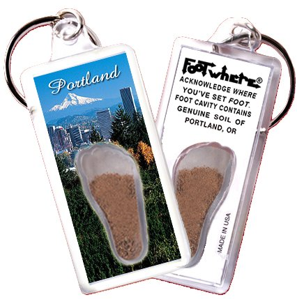"Portland, OR ""FootWhere"" Key - Portland Or Usa"