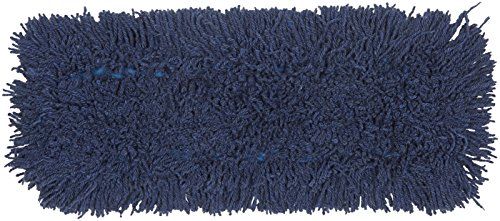 AmazonBasics Dust Mop Head Replacement, Blend Yarn, 18 Inch, 6-Pack