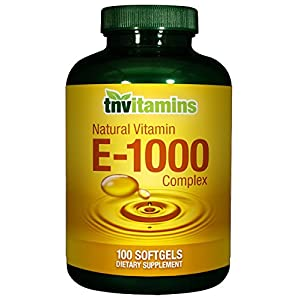 Vitamin E-1000 IU Natural Complex – 100 Softgels