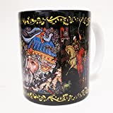 Tea  and  Coffee Mug %22Palekh%2E Cherno
