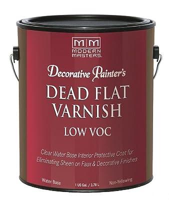 Modern Masters DP400- GAL Interior Dead Flat Varnish Low VOC Gallon
