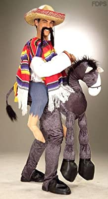 Disfraz Amigo Mexicano A Caballo 111cm Pecho: Amazon.es: Juguetes ...