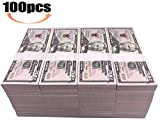 Motion Picture Money $5000 Prop Money Full Print 2 Sided $50 Dollar Bills Realistic Money Stacks,Copy Money Play Money That Looks Real for Movie,Videos, Birthday Party