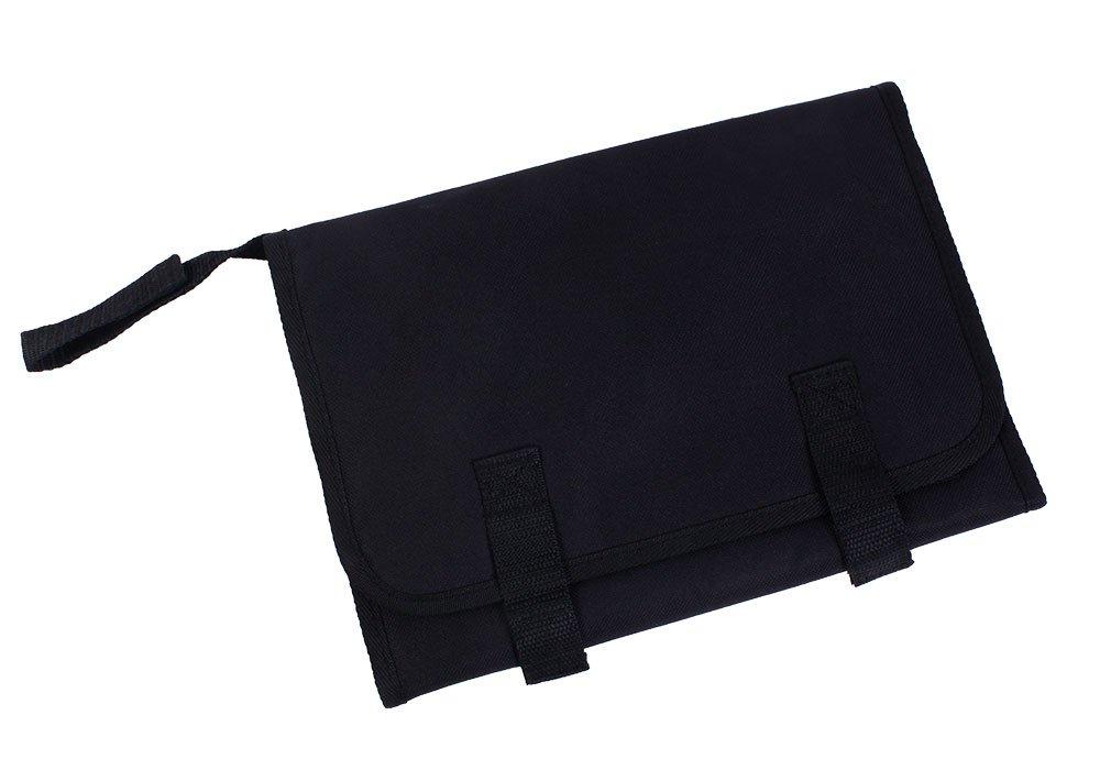 niceEshop(TM) Portable Estera Cambiador de Cambio de Pañales del Bebé (Negro)