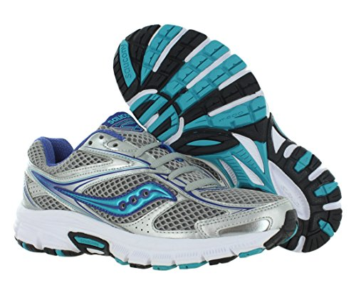 Women's Blue 8 Cohesion Saucony Silver Fitness W SnYq44wt