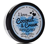 I Love... Coconut & Cream Nourishing Body Butter 200ml offers