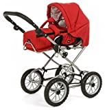 Stroller ''combi 3 in 1'' red by BRIO