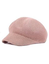 Roffatide Women Beret Hat Mesh Summer Newsboy Ivy Cap