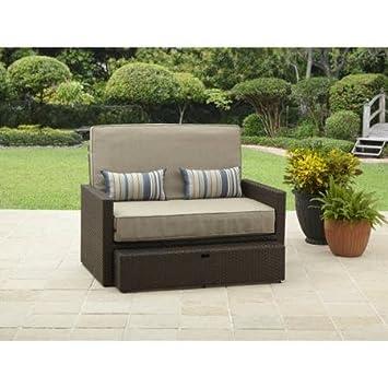 better homes gardens beach chaise loveseat ikea karlstad isunda grey kivik lounge