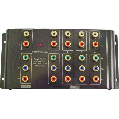 Calrad 40-937B 1 x 4 Component Stereo Audio Distribution Amplifier