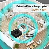 TOKSEL 100ft Long Range Bluetooth Transmitter