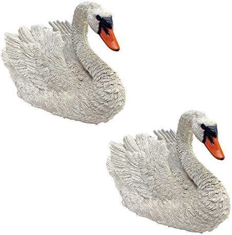 Design Toscano White Swan Garden Bird Statue