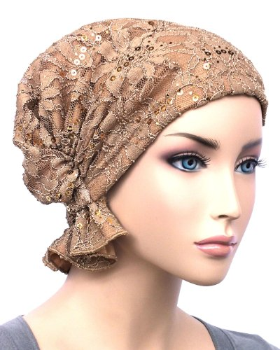8297ec038bd Turban Plus The Abbey Cap in Poly Knit Chemo Caps Cancer Hats for Women ...
