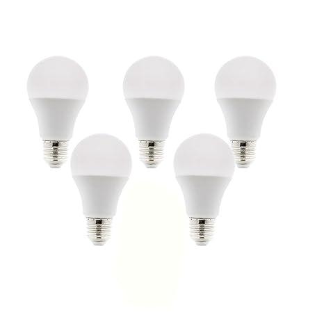 KHEBANG Bombillas LED E27 A60 11W Luz blanco Frío 6200K Equivalente a 90 W ,no