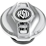 RSD Replacement Fuel Gauge Cap With LED Fuel Light - Cafe - Chrome 0210-2013-CH