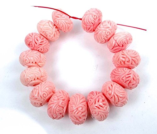 spkbead-pink-shell-carved-rondelle-beads-jewelry-making-stone-craft-set-of-50-pcs-with-drawing-book-