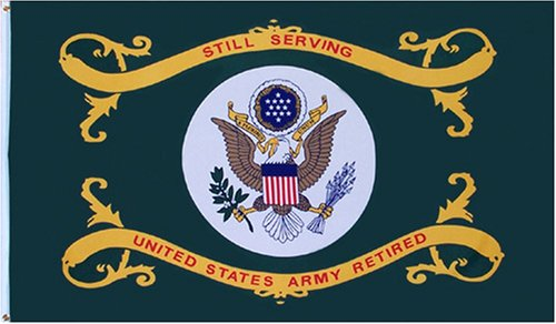 US Army Retired 3x5 Flag NEW 3 x 5 Military Banner