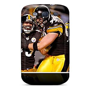 Perfect Fit WEL72RfmR Pittsburgh Steelers Case For Galaxy - S3